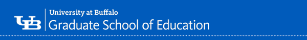 UB | University at Buffalo | Graduate School of Education